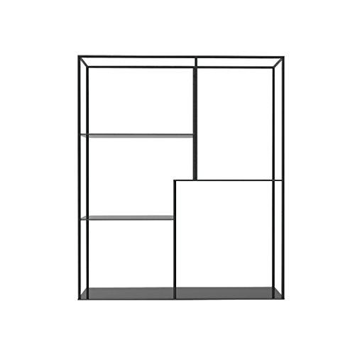Rectangle Wall Wine étagère LOFT Tenture murale Cube étagère pour chambre à coucher comme étagère de rangement Rack flottant unité cadre comme décoration murale Design Vintage Industrial Style Créativité
