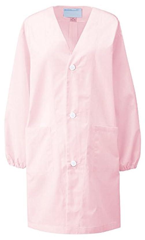 なめらかな樫の木ブロックするKAZEN カゼン 給食衣(シングル型)1~3号 397-93(ピンク) サイズ:1号