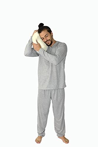Pijama Masculino Adulto Manga Longa Calça Comprida Inverno