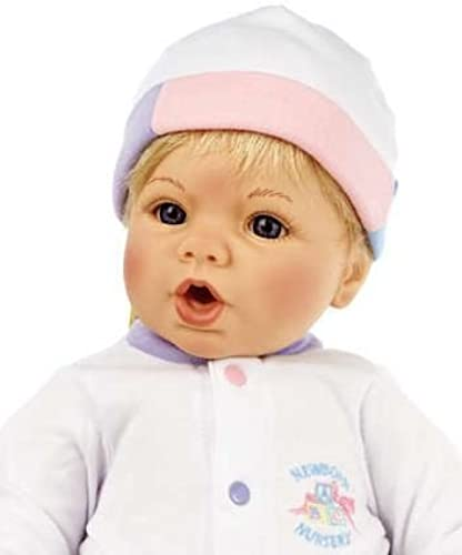 nouveauborn Nursery - 19 Cuddle Me Blonde bleu by Alexander Doll