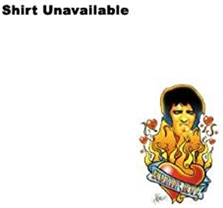 Elvis - Burning Love Little Boys T-Shirt in Hot Pink