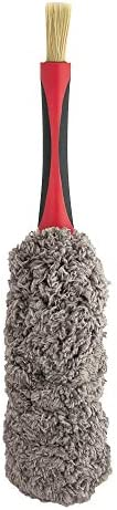 Barrett Jackson Microfiber Duster Detail Brush with Soft Grip Handle product image