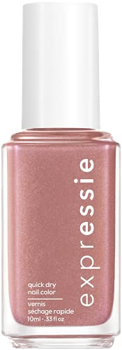 essie expressie Quick-Dry Nail Polish, Nude Pink 040 Checked In, 0.33 Ounces
