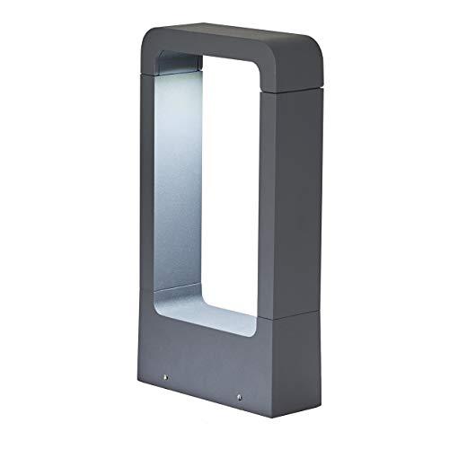 Topmo-plus Stehleuchte außenleuchte/ 7W LED bridgelux COB Wegeleuchte Aluminium LED wegelampe...