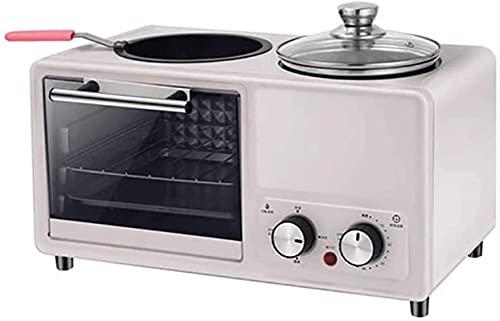 Máquina de desayuno multifuncional Cuatro en un aparato eléctrico automático de asado frito que no esté fácil de limpiar
