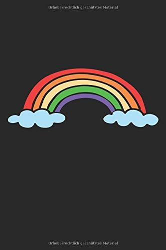 Regenbogen: Notizbuch A5 Punktraster - zum planen, organisieren und notieren