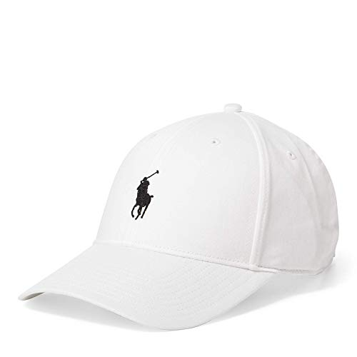 Polo Ralph Lauren Men`s Baseball Cap (White,/Black, One Size) …