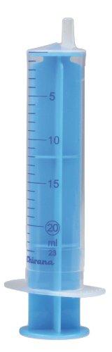 Einmalspritzen Einmalspritze Spritzen 20ml 100 Stück blauer Kolben Einwegspritzen Spritze steril