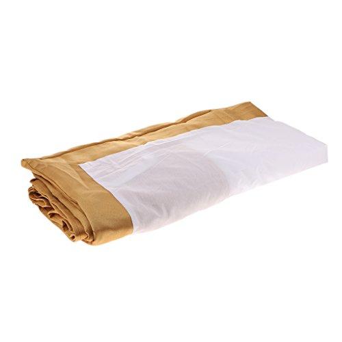 P Prettyia Bedskirt de Cama de Hotel - Tamaño Doble 25cm Resistente a Las Arrugas Y a La Decoloración