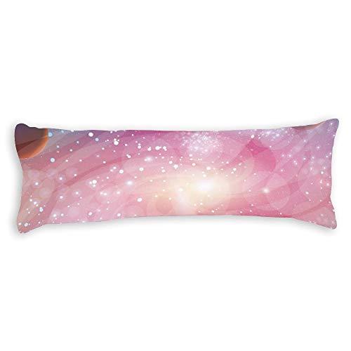 pealrich Fundas de almohada para pelo y piel de 50 x 60 cm, diseño de estrella de granate decorativa para sofá, dormitorio, coche