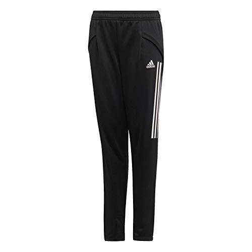 adidas Condivo 20 Track Pants Pantalón, Niños, Negro (Black/White), 152