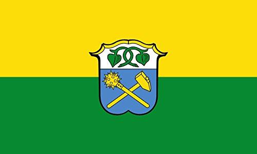 Unbekannt magFlags Tisch-Fahne/Tisch-Flagge: Waakirchen 15x25cm inkl. Tisch-Ständer