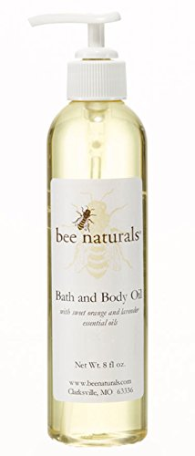 bee naturals bath and body oil