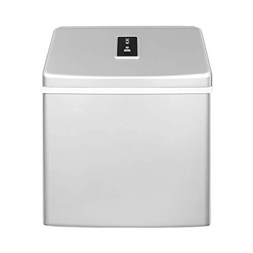 YIBOKANG Máquina automática de máquina de hielo de encimera eléctrica de autolimpieza automática, 24 cubos de hielo de bala listos en 20 minutos, hasta 33 libras en 24 horas con hielo cucharad