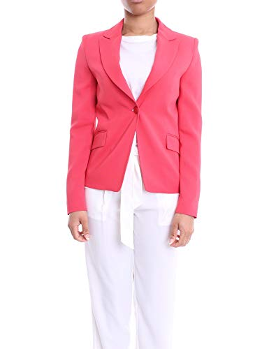 Liu Jo Luxury Fashion Damen IA0193T1929X0246 Rosa Viskose Blazer | Frühling Sommer 20