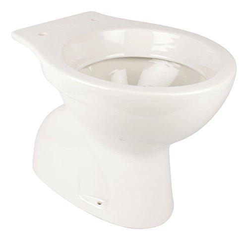 'aquaSu® Stand-WC | Tiefspüler | Abgang innen senkrecht | Weiß | Keramik | Toilette | Gäste-WC | Bad | Badezimmer | Design | Modern
