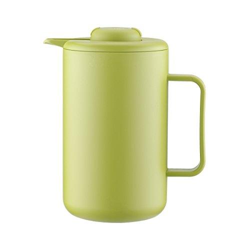 Bodum BISTRO Thermoskanne (Doppelwandig, Vakuum-Isolierung, Edelstahl, 1,0 liters) grün