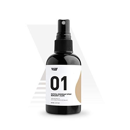 01 Natural Deodorant Spray, Aluminum Free Deodorant Spray, Organic Deodorant Spray for Men and...