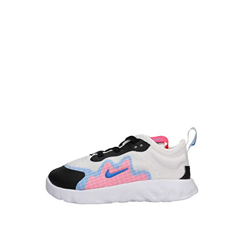 Nike Unisex Baby Renew Lucent (TD) Sneaker, Weiß (White/Photo Blue-Hyper Pink-Black 101), 21 EU
