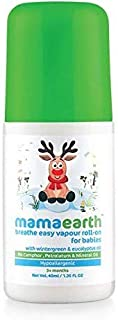 Mamaearth Breathe Easy Vapour Roll-On for Babies 3+ months, 40 ml