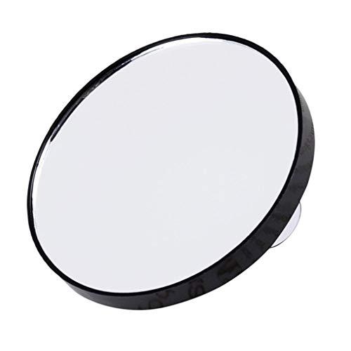 kexinda Tragbarer Runde Make-up-Spiegel mit ABS-Kunststoff Shell-Taschen-Vergrößerungskosmetikspiegel, 10x