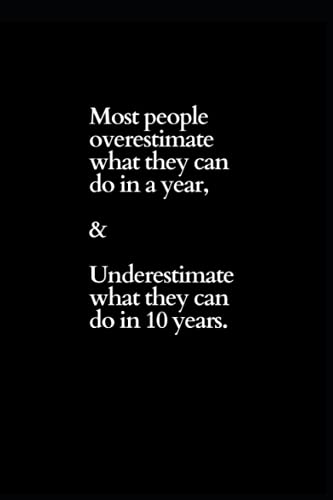 Most people Overestimate Themselves-Organiser Planner