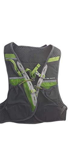 Mochila, Chaleco Waynorth para Running, Montaña, Deportes, Excursión - 40x21 cm (Verde)