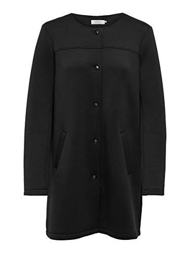 ONLY Damen ONLDONNA Bonded Coat CC OTW Anorak, Black, M