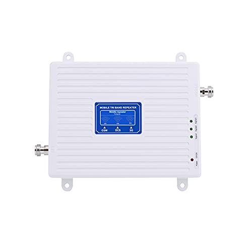 TIZJ Amplificador de señal de teléfono Celular para el hogar y la Oficina Repetidor gsm 2G 3G Amplificador de señal Celular 4G Amplificador Celular 4G gsm 900 1800 2100 Repetidor Celular