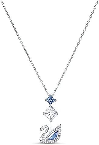 SWAROVSKI Women's Dazzling Swan Necklace...