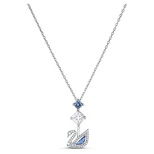 collana donna blu Swarovski Collana Dazzling Swan