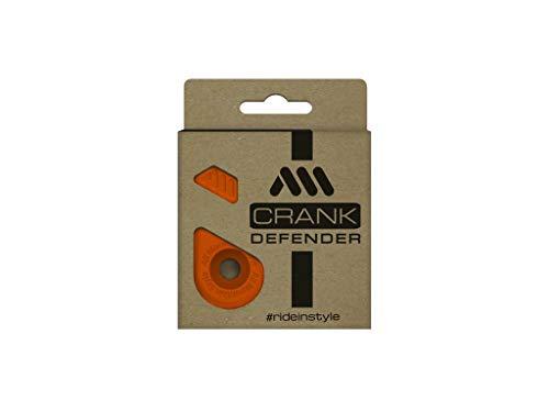 All Mountain Style AMSCD1OR Defender Protection de pédale-Protégez et coiffez Vos manivelles Orange Crank Mixte Adulte, FR Unique (Taille Fabricant : One Size)