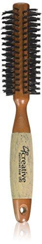 Creative Hair Brushes Classic Round Sustainable Wood, Small, 2.1 Ounce by Creative Hair Brushes