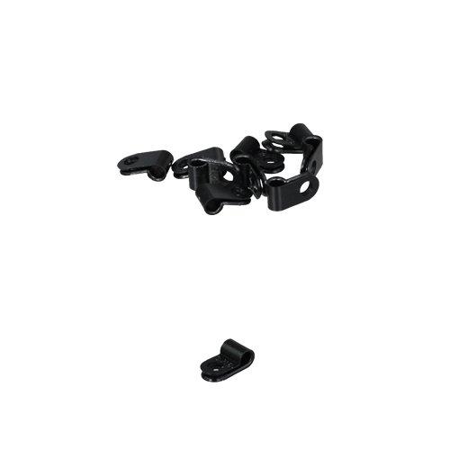 10 x Kabelklemme, Kabelschelle, Kunststoff 5,0mm