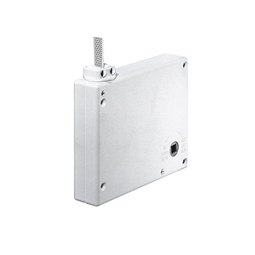 JAROLIFT Mini Getriebe Kurbelwickler für Gurt, weiss/inkl. 5m Gurt (203503)