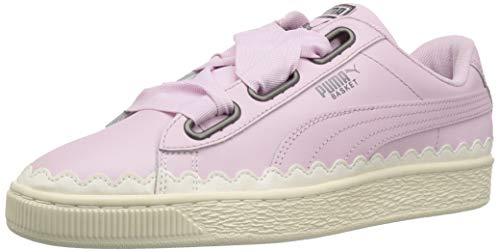 PUMA Zapatilla de deporte Basket Heart para mujer, rosa (Orquídea Winsome), 36 EU