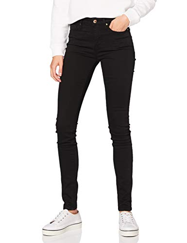 Tommy Hilfiger Damen Heritage Como Skinny Rw Skinny Jeans, Schwarz (Masters Black 017), W29/L32