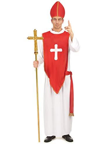 Déguisement cardinal homme Taille Unique