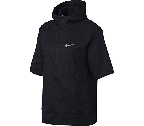 Nike Damen Laufjacke W Nk Flex Hd Ss Ssnl, Schwarz, S, 890110-010