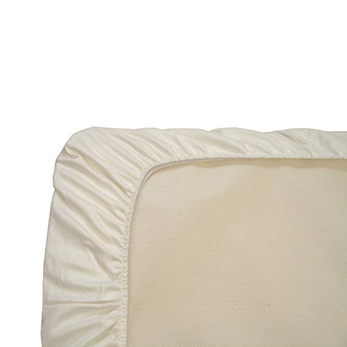 Organic Cotton Sheets Style: Cradle (Fitted) in Ivory