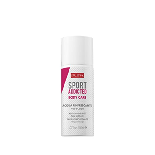 Pupa Sport Addicted Acqua rinfrescante Viso/Corpo 150 ml, Multicolore, Unica