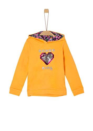 s.Oliver Junior Mädchen 403.10.008.14.140.2041198 Sweatshirt, Yellow, 116-122 /RE
