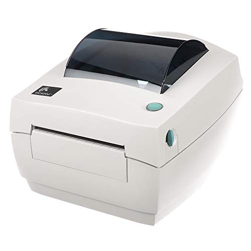 Zebra - GC420d Direct Thermal Desktop Printer for labels, Receipts, Barcodes, Tags - Print Width of 4 in - USB, Serial, and Parallel Port Connectivity - GC420-200510-000