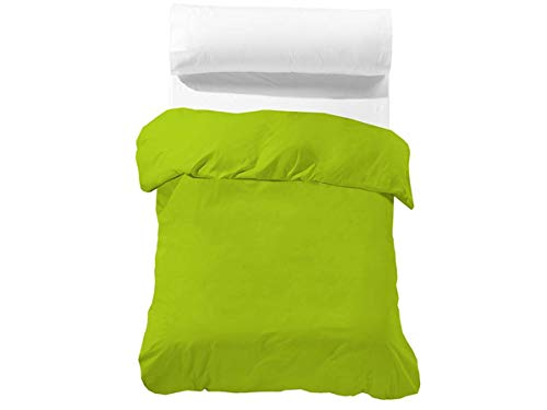Barceló - Funda nórdica BASIC - Cama 90 cm - Color Verde pistacho