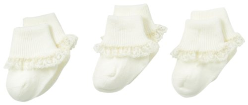 Top christening socks for baby girls ivory for 2021
