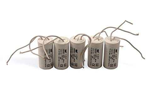 CONTACT Capacitor 2.50 MFD Fan Capacitor 440 VAC - Pack of 5...