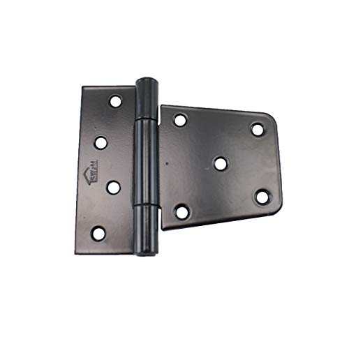 Shed Hinge 3-1/2' Square Barn Hinge (Set of 6) Heavy Duty Gate Hinge Barn Storage Shed Gate