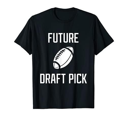 Futuro Draft Pick Profesional Atleta de fútbol americano Camiseta