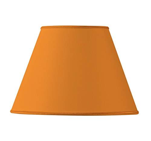 Conische stof lampenkap Ø 40 x 21 x 27 cm Oranje
