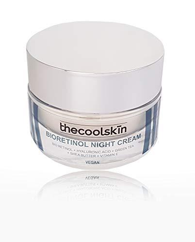 Natural y Vegana. Crema de noche. Bioretinol Night Cream. Con Bio retinol Ácido Hialurónico Manteca de Karité Vitamina E. Antioxidante 50ml